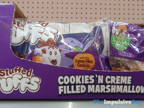 Stuffed Puffs Halloween Cookies  N Creme Filled Marshmallows