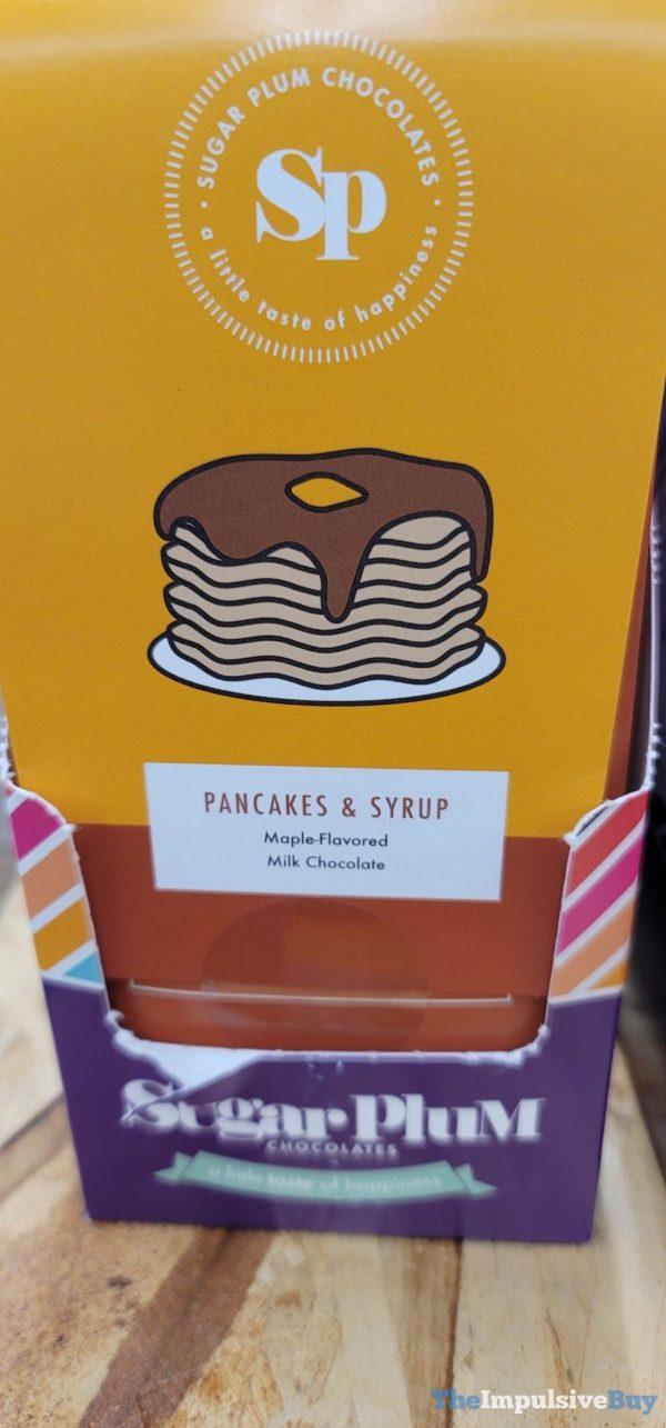 Sugar Plum Chocolates Pancakes  Syrup