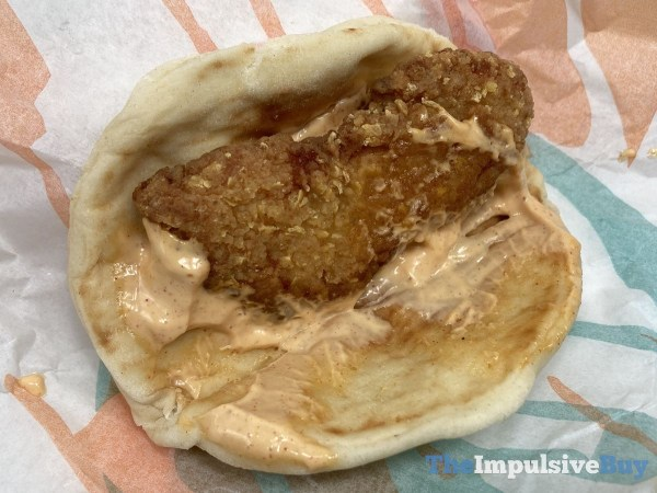 Taco Bell Crispy Chicken Sandwich Taco Regular