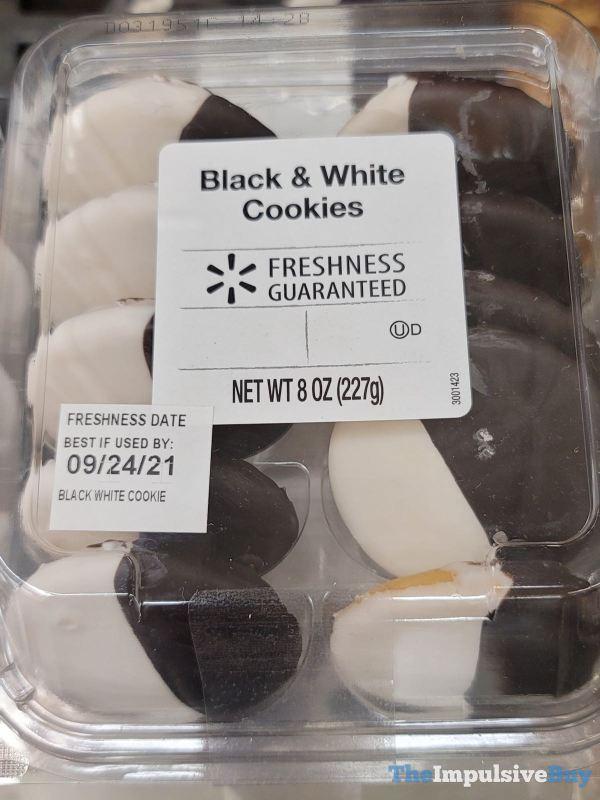 Walmart Freshness Guaranteed Black  White Cookies