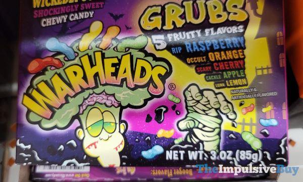 Warheads Halloween Grubs