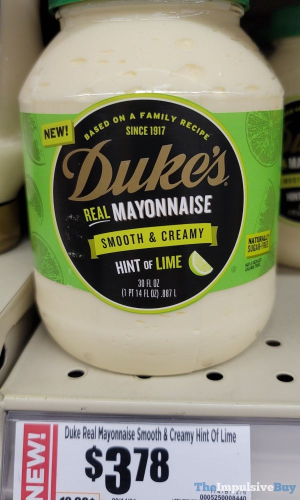 Duke s Hint of Lime Mayonnaise