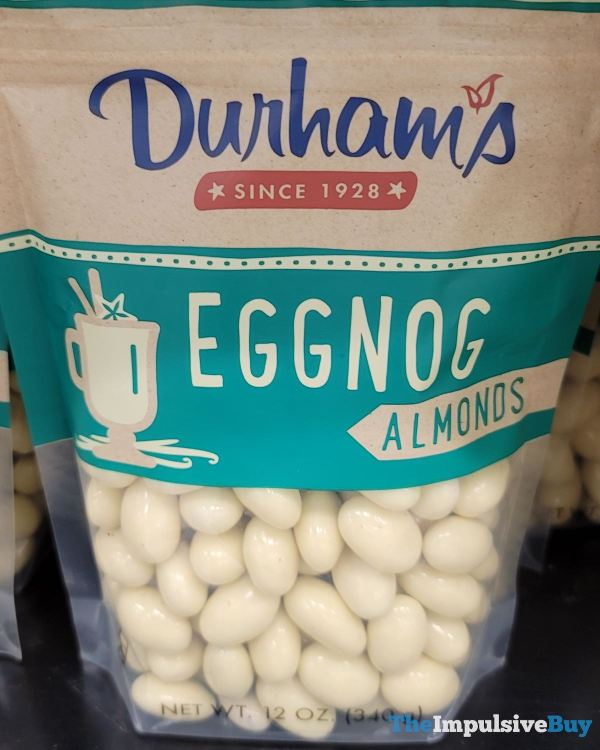 Durham s Eggnog Almonds