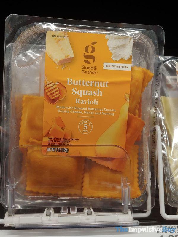 Good  Gather Limited Edition Butternut Squash Ravioli