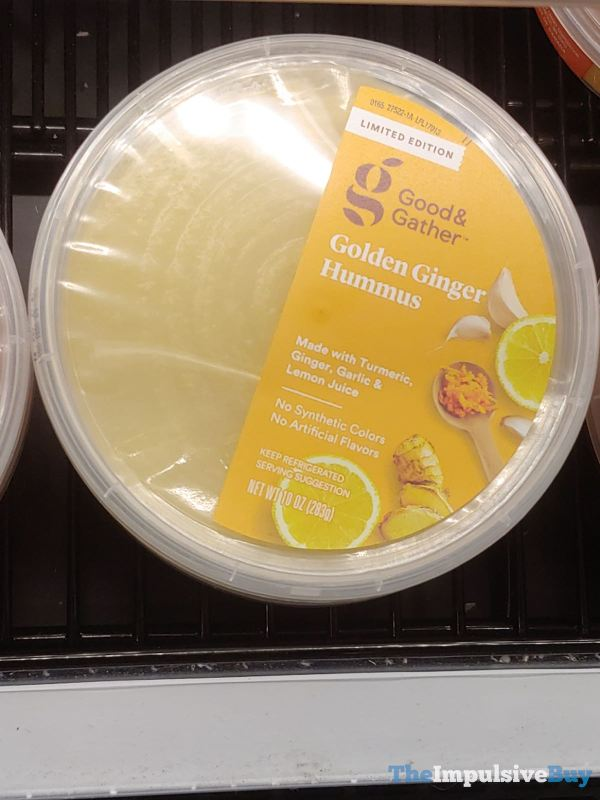 Good  Gather Limited Edition Golden Ginger Hummus
