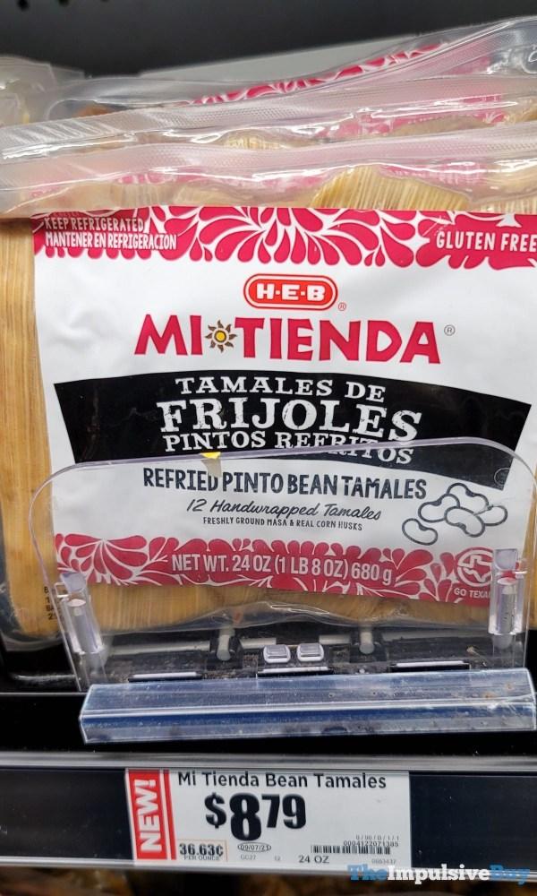 H E B Mi Tienda Refried Pinto Bean Tamales