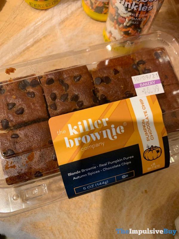 The Killer Brownie Company Pumpkin Chocolate Chip