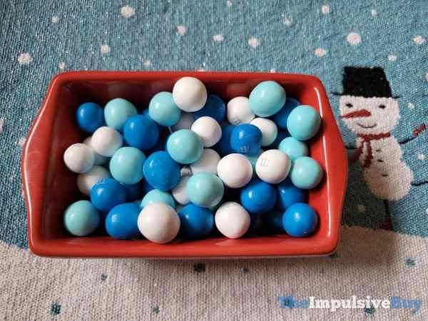White Chocolate Pretzel Snowballs M M s Festive