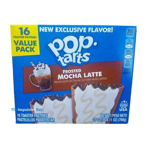 Frosted Mocha Latte Pop Tarts Box