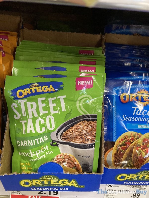 Ortega Street Taco Carnitas Crockpot Seasoning Mix