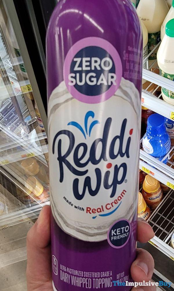 Zero Sugar Keto Friendly Reddi wip