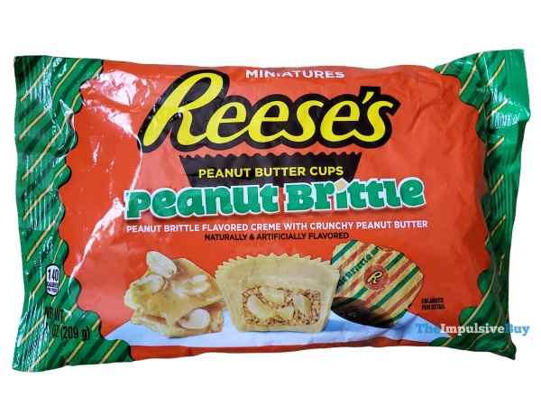 Reese s Peanut Brittle Peanut Butter Cups Bag