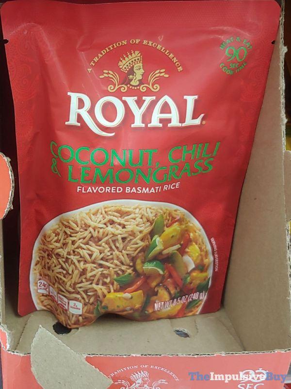 Royal Coconut Chili  Lemongrass Basmati Rice  Lentils