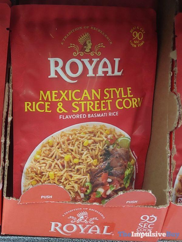 Royal Mexican Style Rice  Street Corn Basmati Rice