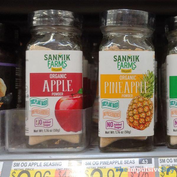 Sanmik Farms Organic Apple Powder and Pineapple Powder