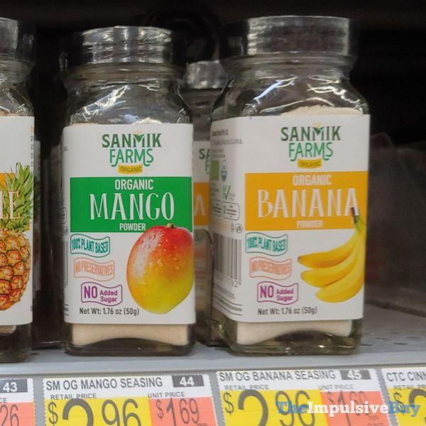 Sanmik Farms Organic Mango Powder and Banana Powder