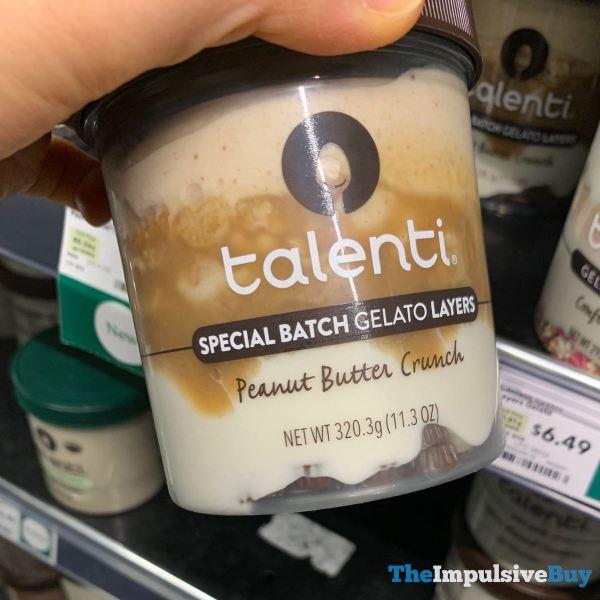 Talenti Special Batch Gelato Layers Peanut Butter Crunch