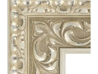 Antique Mirror Booth Frame Silver