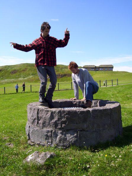 Viðey Island, Iceland