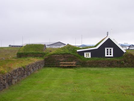 Turf House, Keflavik, Iceland