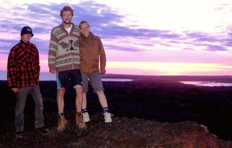 Nathanael, Ashleigh, Jonathan, Iceland
