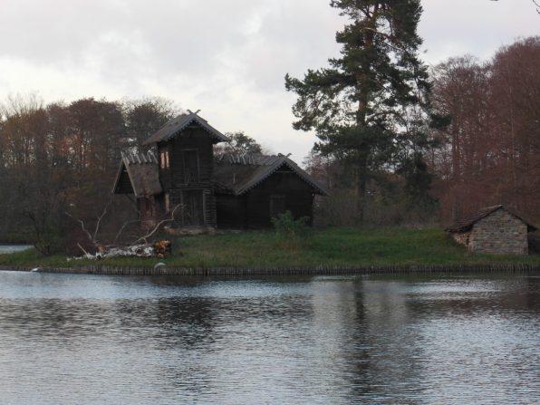 Evil witch house, Frederiksborg Castle grounds, Copenhagen, Denmark