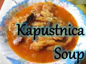 Kapustnica Soup