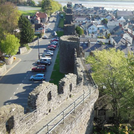 Conwy town's fortifications