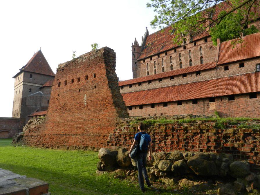 Malbork wall