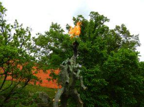 The Wawel Dragon, Krakow, Poland