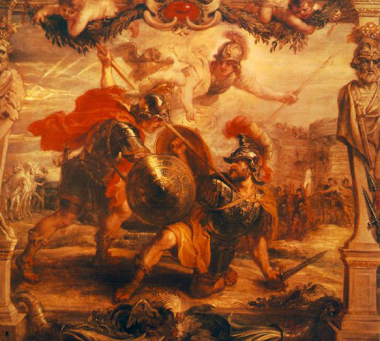 Achilles defeats Hector