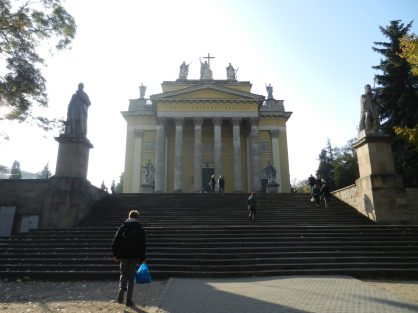 Steps up to the Basilica