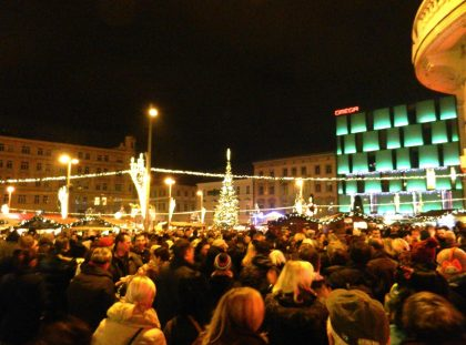 Christmas Market, Freedom Square, Brno, Czech