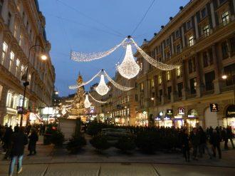 Lights in VIenna, Austria