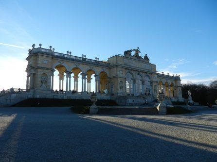 Gloriette at Schönbrunn Palace, Vienna, Austria