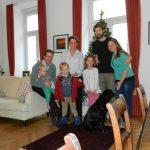 Our family in Vienna, Austria
