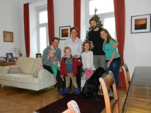 Our family in Vienna, Austria