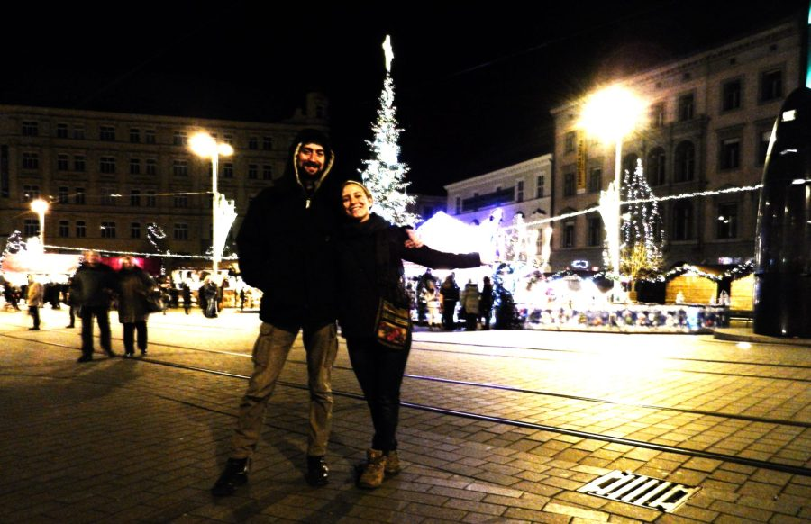 Christmas, Freedom Square, Brno, Czech