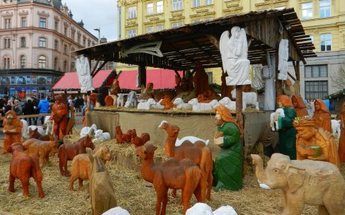 Nativity Scene, Freedom Square, Brno, Czech