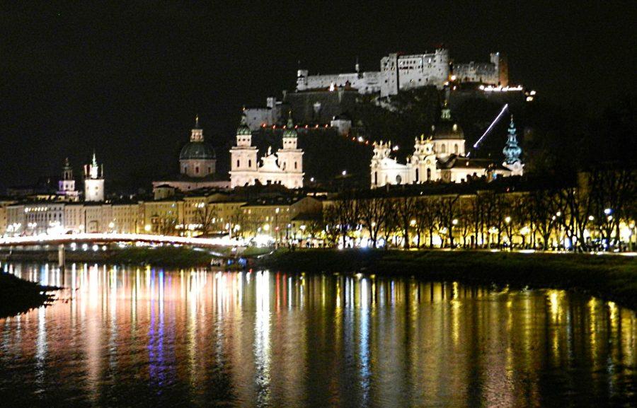 Salzburg cityscape, Austria
