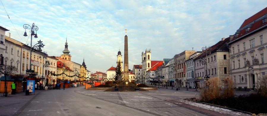 SPN Square, Banská Bystrica, Slovakia