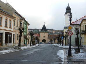 Kosicka Main Gate, Levoca, Slovakia