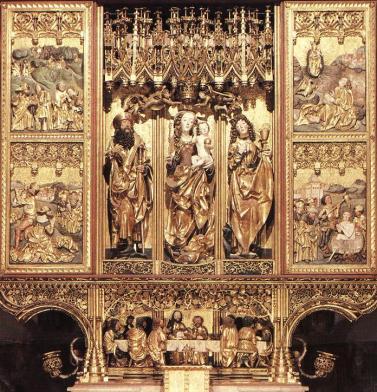 Master Paul's Altar, St. James' Church, Levoca, Slovakia