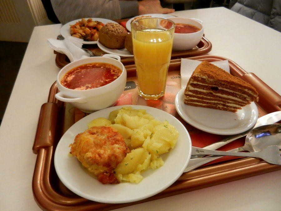 A feast, Lviv, Ukraine