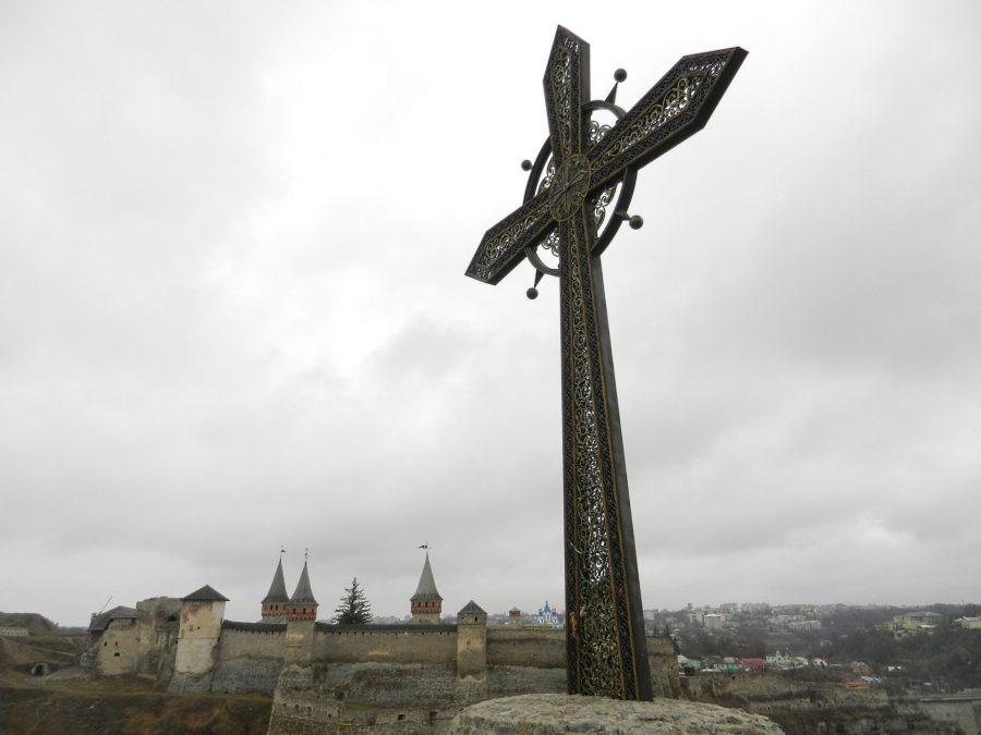 Cross of Kamyanets-Podilsky, Ukraine