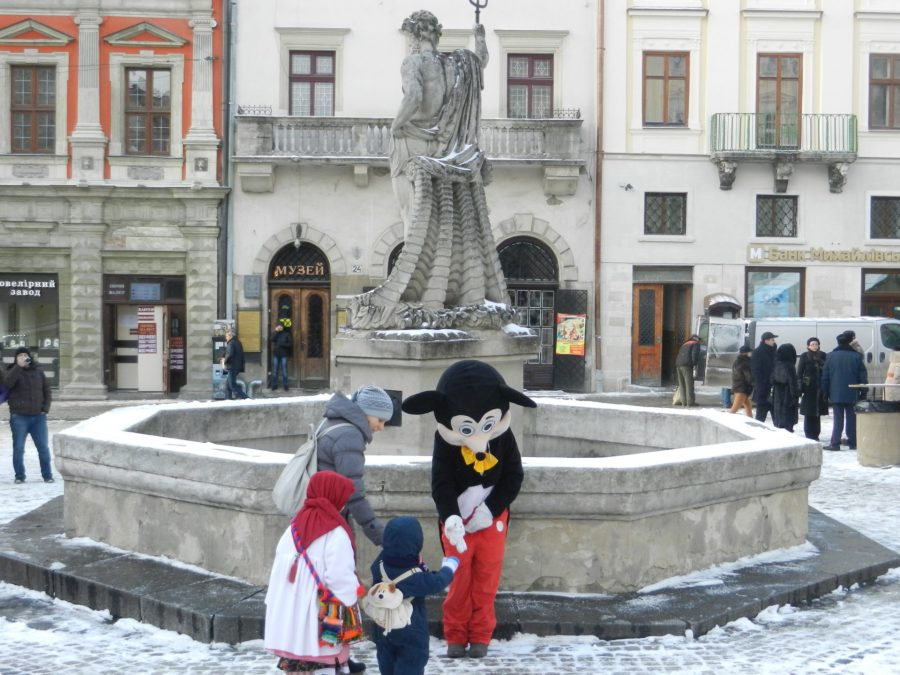 Ploshcha Rynok, Lviv, Ukraine