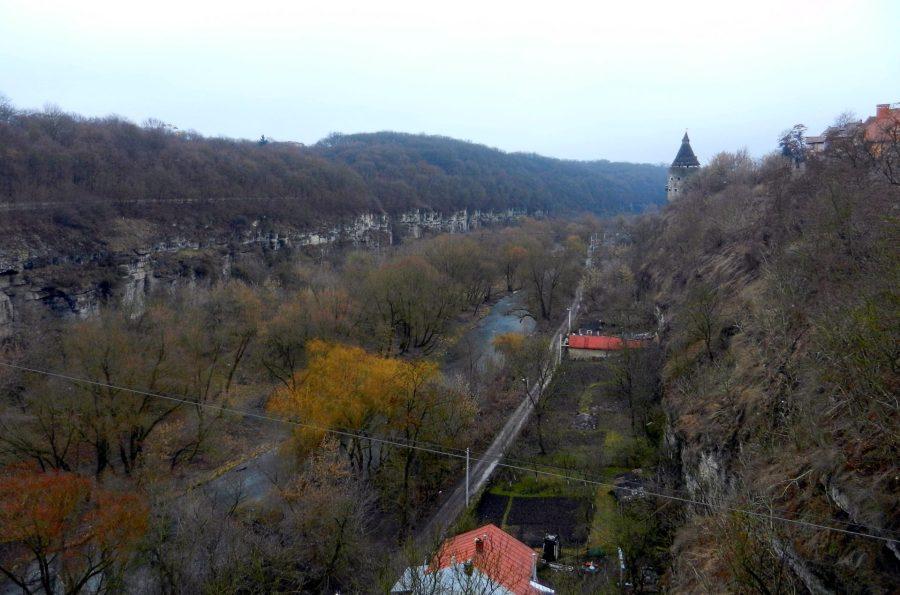 Kamianets-Podilskyi, Smotrych River, Ukraine