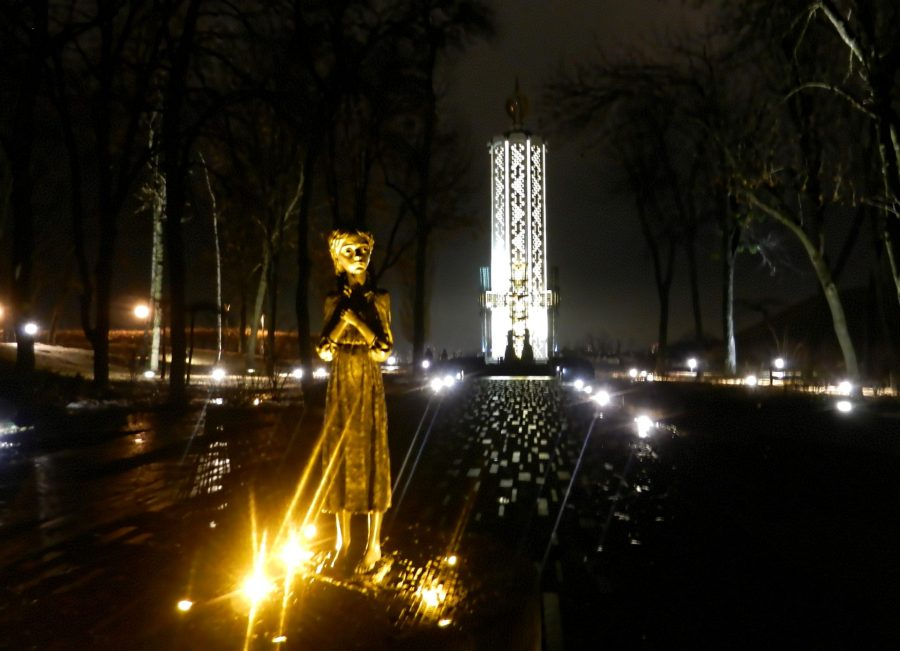 Monument to the Victims of Starvation Times, Kiev, Ukraine