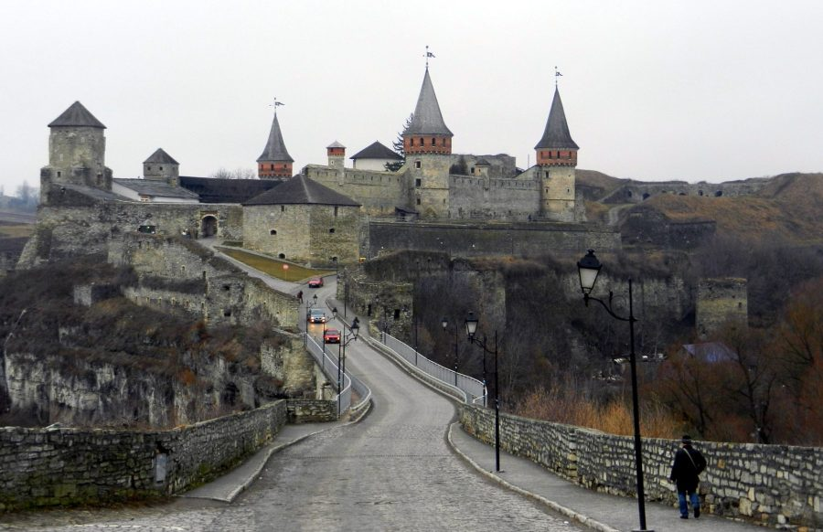 Old and New castle of Kamyanets-Podilsky, Ukraine