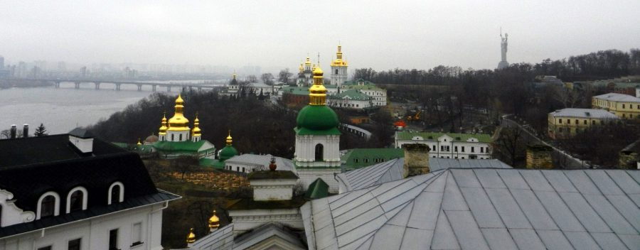 Kiev Pechersk Lavra, Mother Motherland, Ukraine